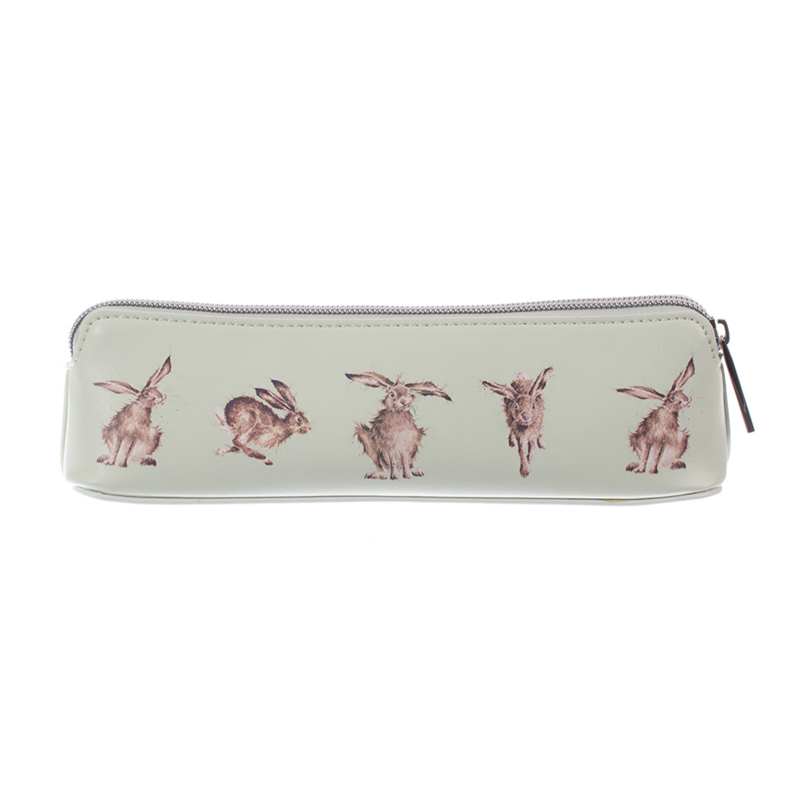 """Wrendale brush bag """"Leaping Hare"""" - haas"""