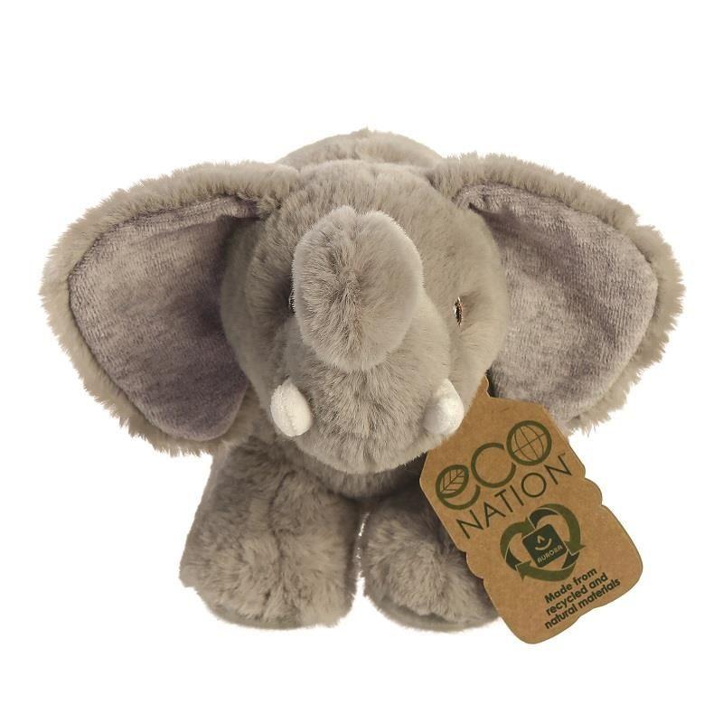 Eco Nation knuffel olifant
