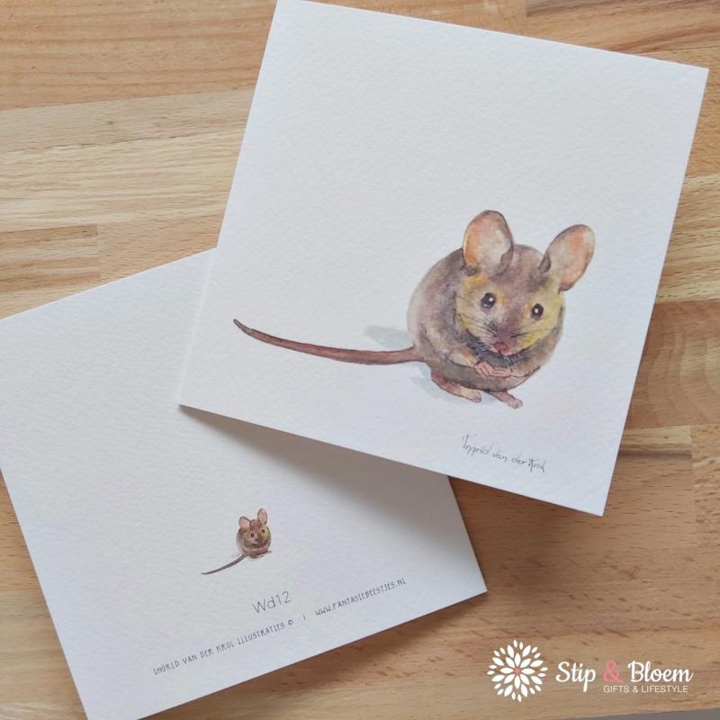 Dubbele kaart - muis