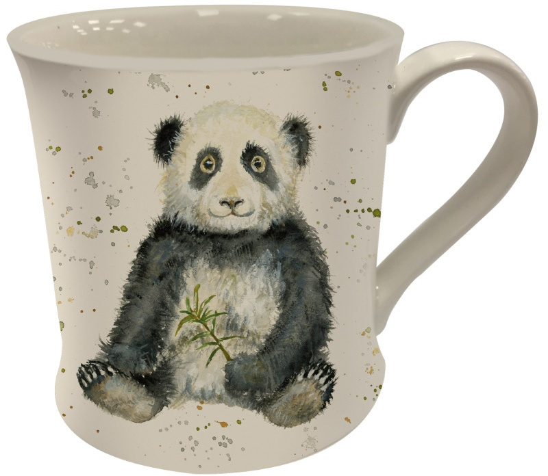 Bree Merryn fine china mok - Polly panda
