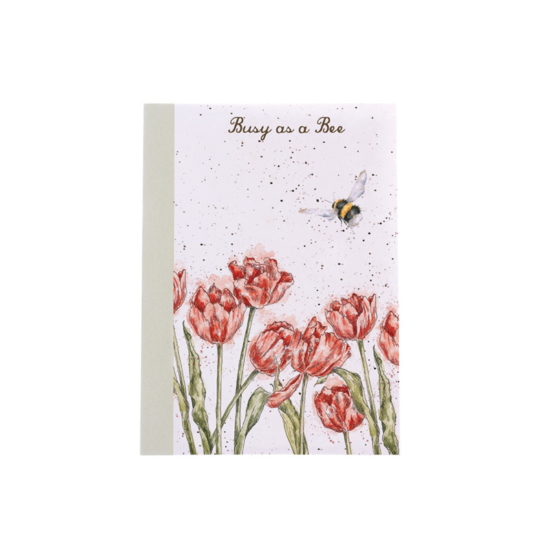 """Wrendale A6 Paperback Notebook """"Bumblebee"""""""