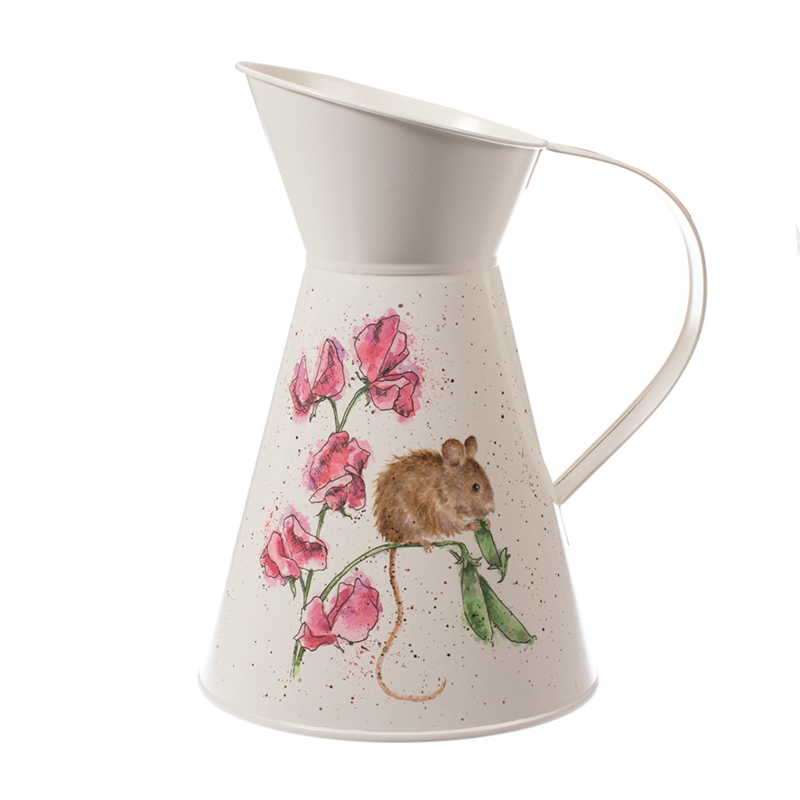 Wrendale Flower Jug - The Pea Thief