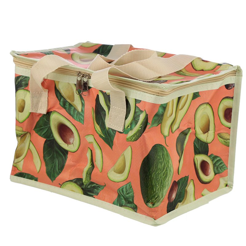 XL koeltasje/picknicktas - avocado
