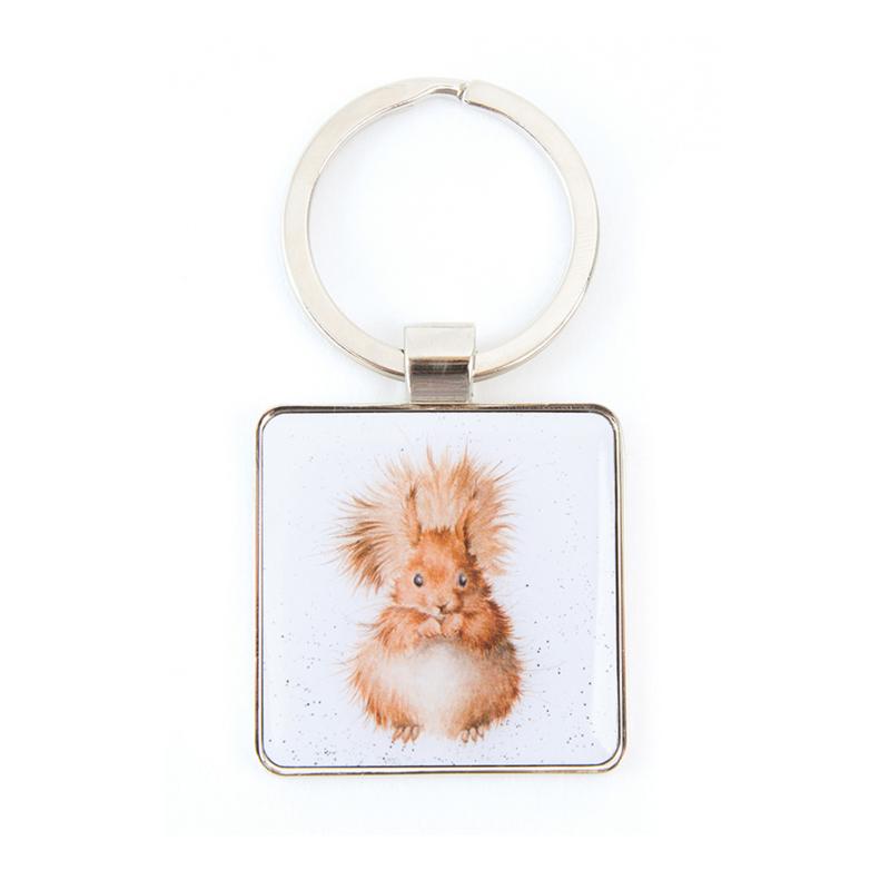 """Wrendale sleutelhanger """"Redhead"""" - eekhoorn"""