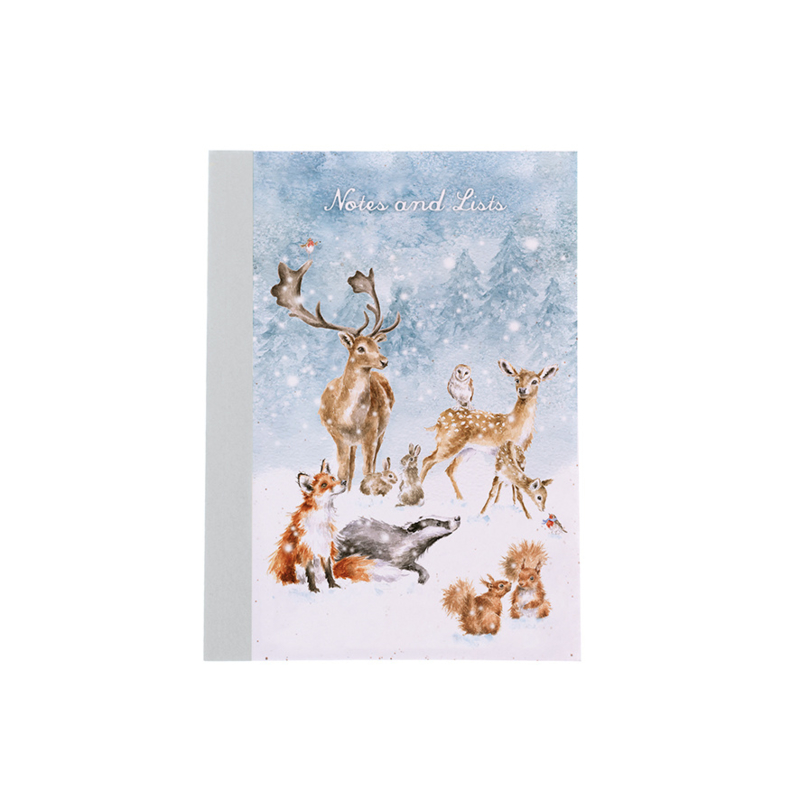 "Wrendale A6 Paperback Notebook ""Winter Wonderland"""