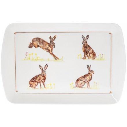Country Life Hare medium tray