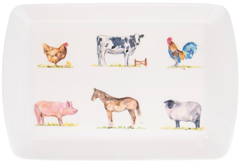 Country Life medium tray