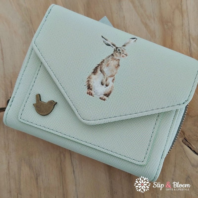 """Wrendale small purse """"Hare"""" - haas"""
