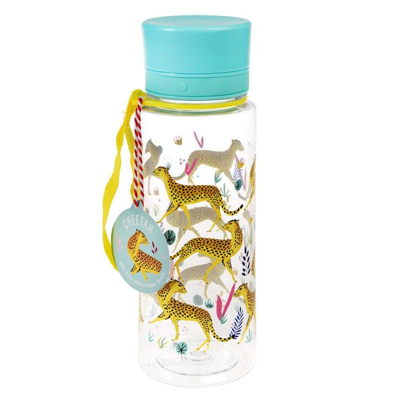 Tritan waterfles cheetah 600 ml