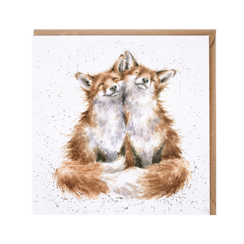 """Wrendale greeting card - """"Contentment"""" - vos"""