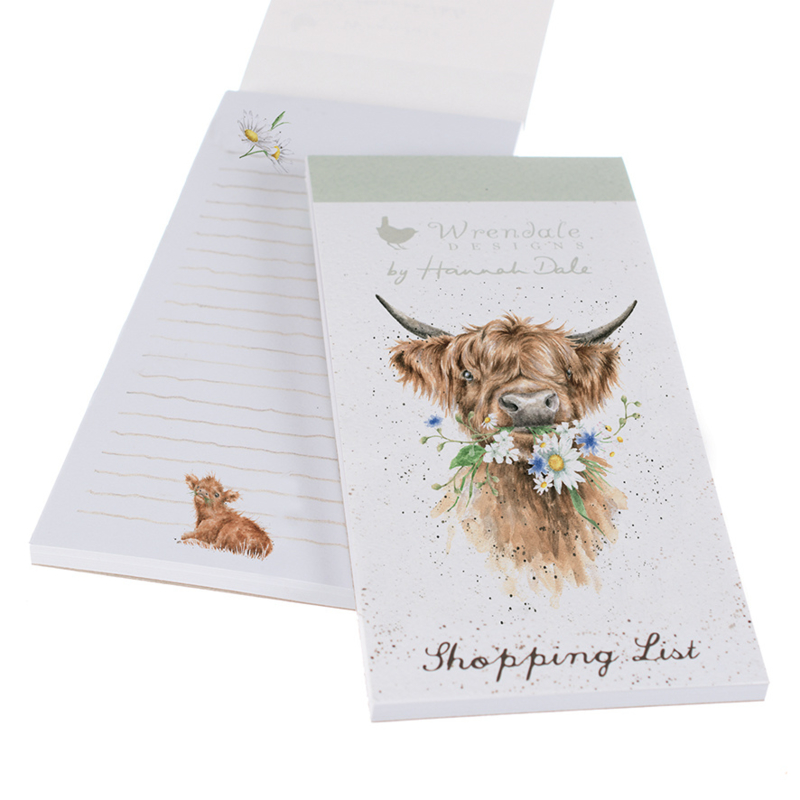 """Wrendale Magnetic Shopping Pad """"Daisy Coo"""""""