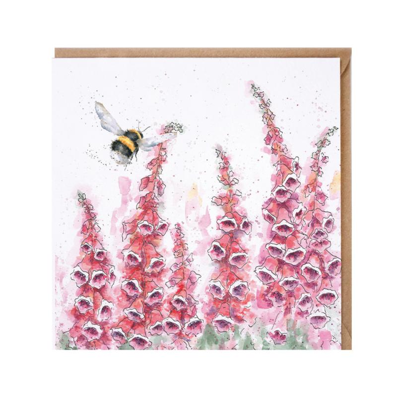 "Wrendale greeting card - ""A Cottage Garden"" - hommel"