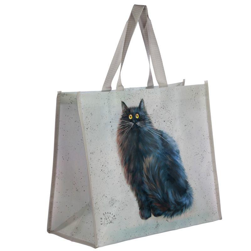 Shopper  - black cat