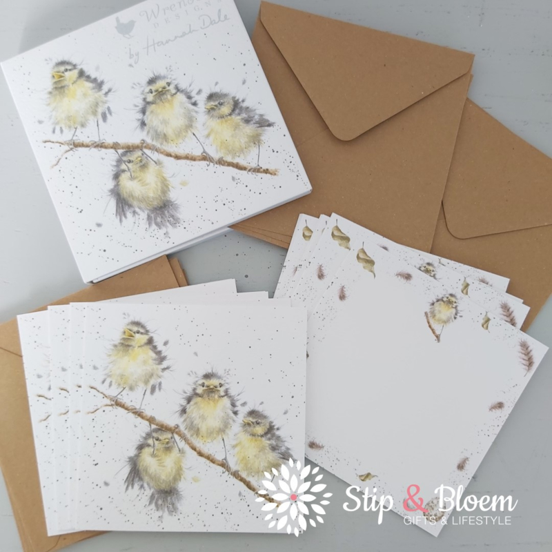 """Wrendale Notecard Pack """"Hanging Out With Friends"""" - pimpelmees"""