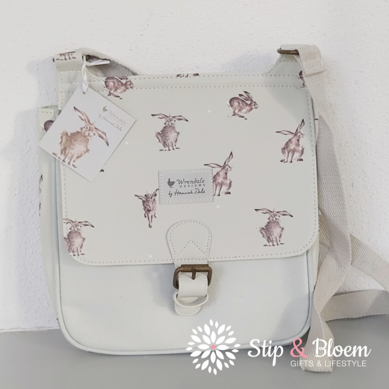 "Wrendale satchel ""Leaping Hare"""