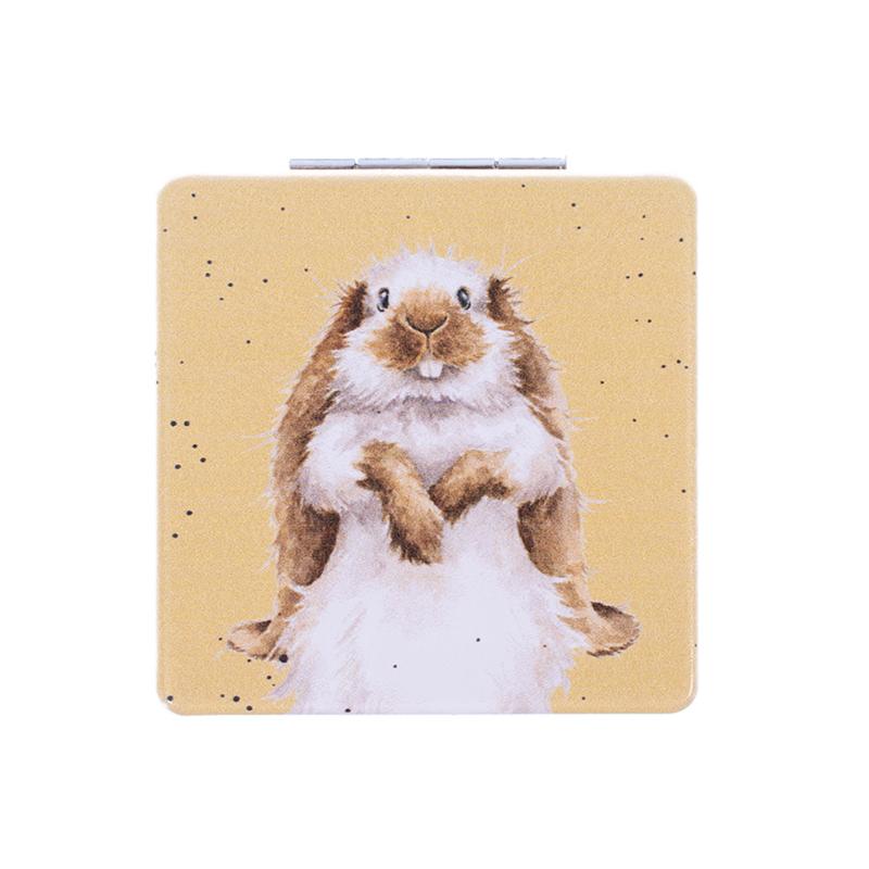 "Wrendale compactspiegel ""Earisistable"" - konijn"