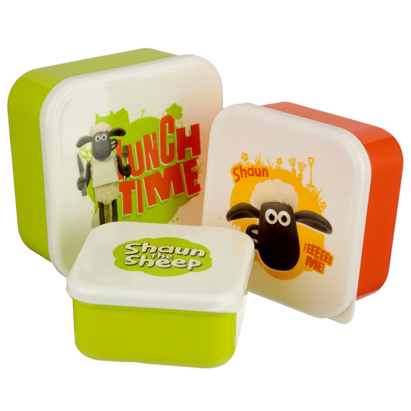 Lunchboxen set - Shaun the Sheep