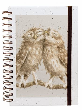 """Wrendale A5 Notebook """"Birds of a Feather"""""""