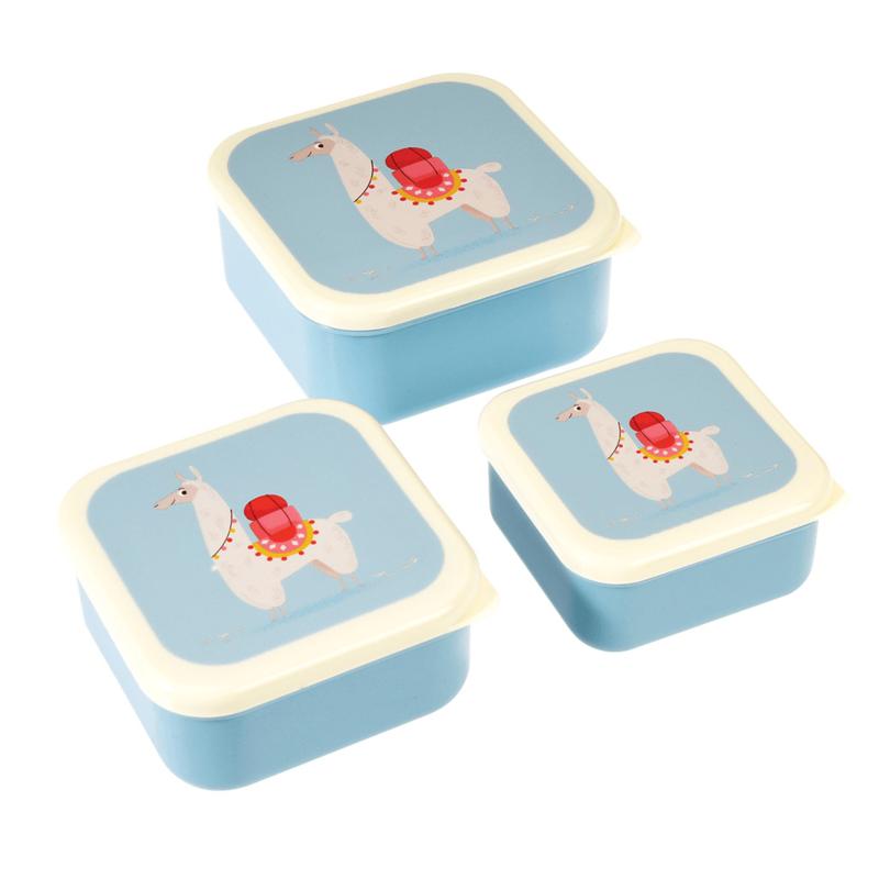 Lunchboxen set - lama