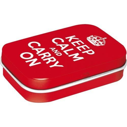 Mint box - Keep Calm and Carry On