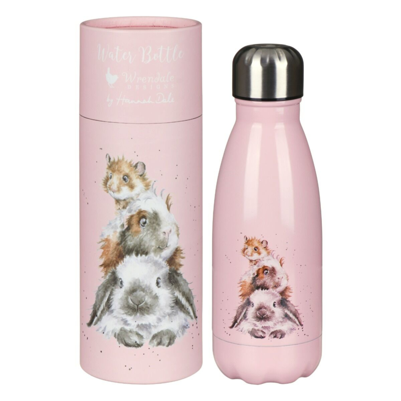 "Wrendale 260ml thermosfles ""Piggy in the Middle"""