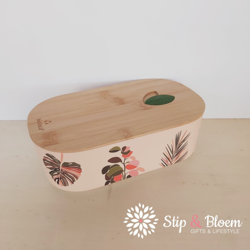 Bioloco plant lunchbox - Colorful leaves