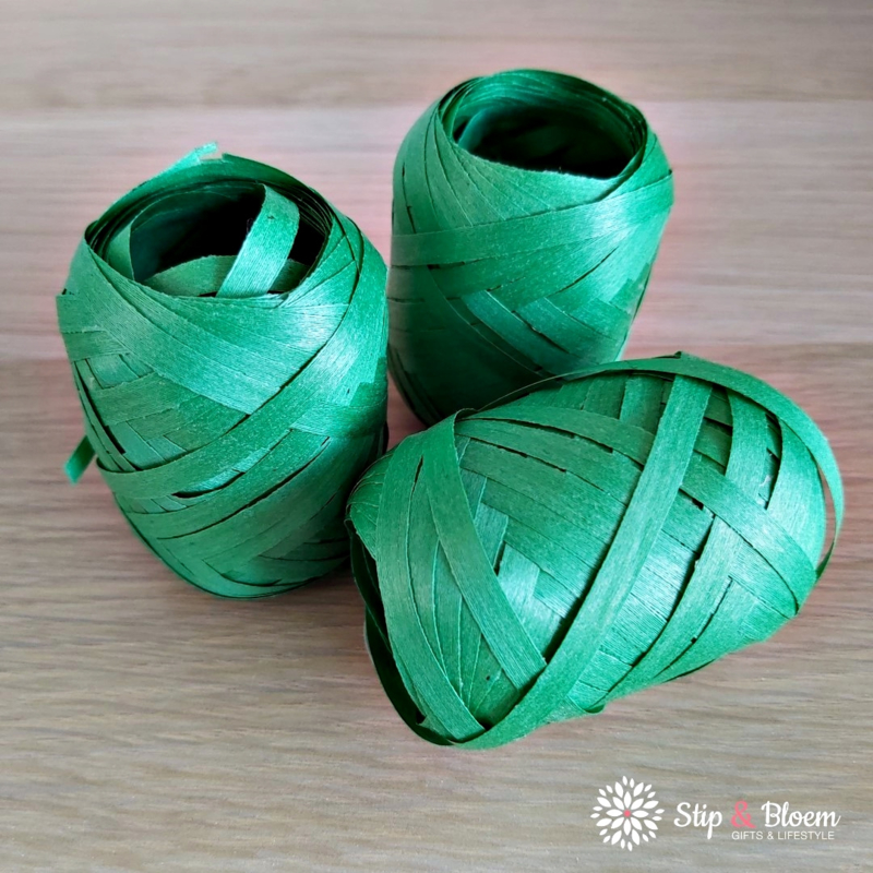 Eco krullint - 20m - groen
