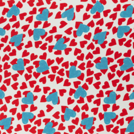Swafing Viscose  | Frieda - Hearts