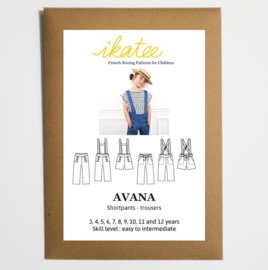 Ikatee Pattern | Avana pants or shortpants- Girl 3/12