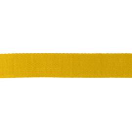 Tassenband Katoen | Oker  | 4cm breed
