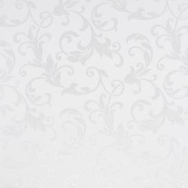 Jaquard Lurex Premium | White-Silver