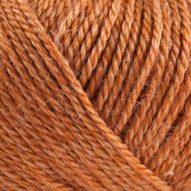 ONION | Organic Wool + Nettles no. 4 | 834 - gebrande sinaasappel