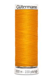 Gutermann 200 meter - Oranjegeel - Donker 362