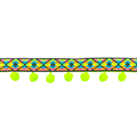 bolletjesband ibiza | groen