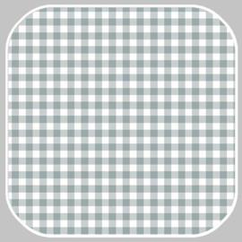 katoen | ruit -M | 03085.042-2 grijsgroen