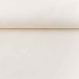 tricot boord uni | off white