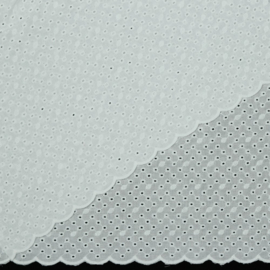Broderie - Embroidery - White  001