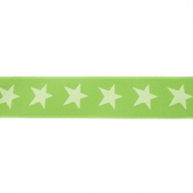 Elastiek  | 4 cm breed | Lime - LichtLime