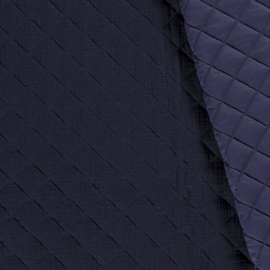 Double Gauze - Mousseline Quilted | Navy 008