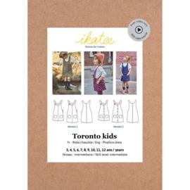 Ikatee Patterns - TORONTO Kids Dress - 3/12y