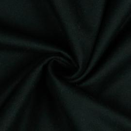 Katoen Flannel - Black