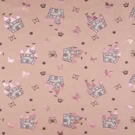 Tricot foil Print - Castle Pink