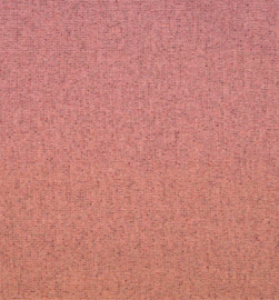 Tricot boordstof glitter | Coral - light copper