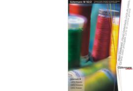 Gütermann kleurenkaart