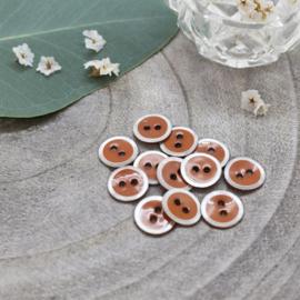 Atelier Brunette | Halo  Buttons |   Chestnut