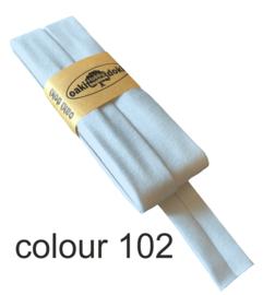 Tricot biaisband | Lichtblauw  | col. 102