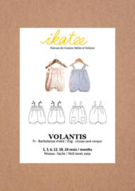 Ikatee Pattern | Volantis |  Unisex tank romper - 1,3,6,12,18,24 months