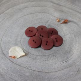 Atelier Brunette  Buttons | Corozo | Palm - Roest  - 20 mm