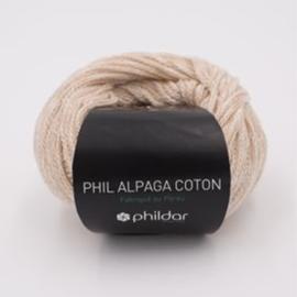 Phil Alpage Coton - Ecru