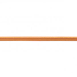 elastisch paspelband | cognac